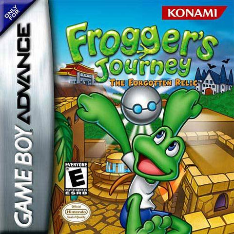 Frogger's Journey: The Forgotten Relic - Game Boy Advance (Platformer, 2003, US )