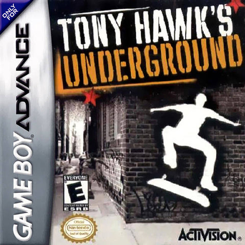 Tony Hawk's Underground - Game Boy Advance [USED]
