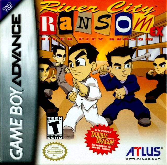 River City Ransom EX - Game Boy Advance (Beat-'Em-Up, 2004, US )