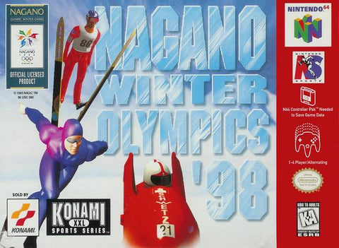 Nagano Winter Olympics '98 - Nintendo 64 [USED]