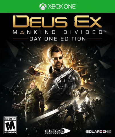 Deus Ex: Mankind Divided (Day One Edition) - Xbox One