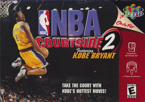 NBA Courtside 2 Featuring Kobe Bryant - Nintendo 64 [USED]