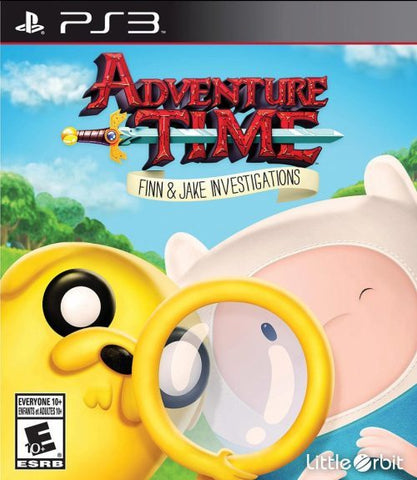 Adventure Time: Finn and Jake Investigations - PlayStation 3