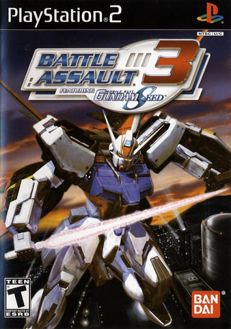 Battle Assault 3 featuring Gundam Seed - PlayStation 2