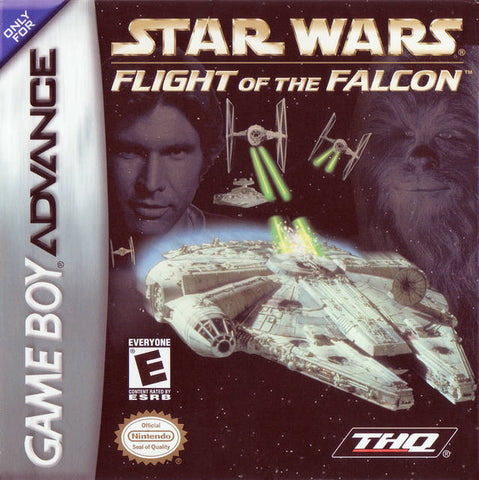 Star Wars: Flight of the Falcon - Game Boy Advance [USED]