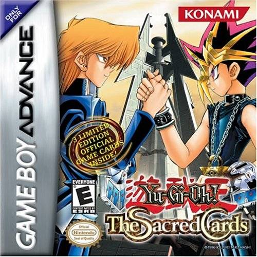 Yu-Gi-Oh! The Sacred Cards - Game Boy Advance (TPS Strategy, 2002, US )