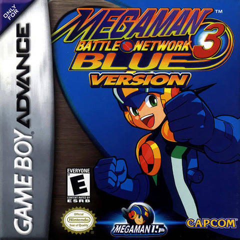 Mega Man Battle Network 3: Blue Version - Game Boy Advance [USED]