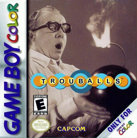 Trouballs - Game Boy Color [USED]