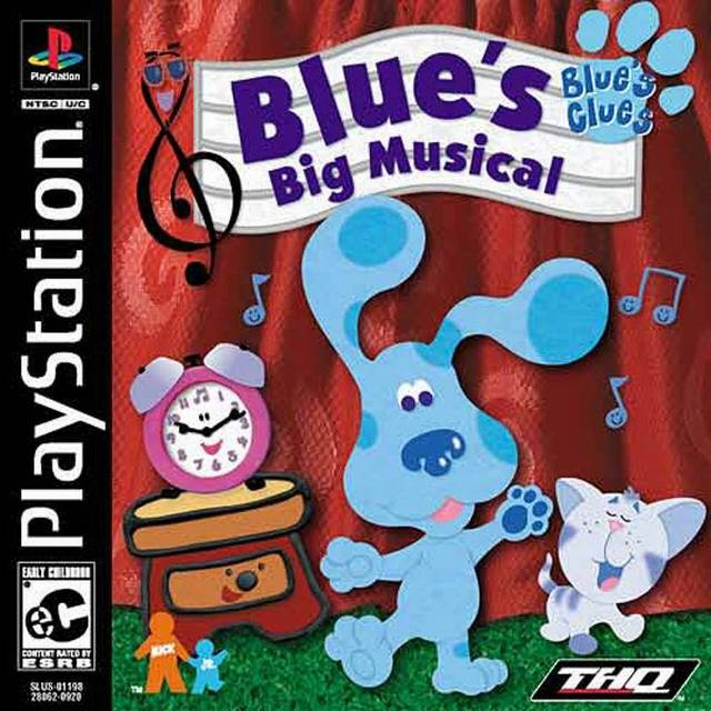 Blue's Clues: Blue's Big Musical - PlayStation