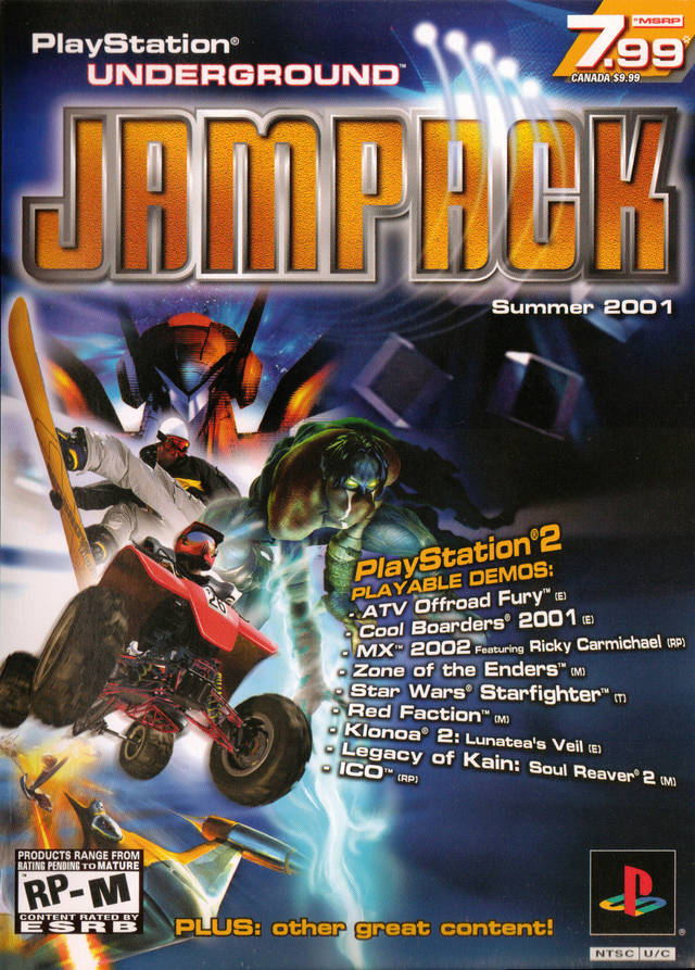 Jampack Summer 2001 - PlayStation 2