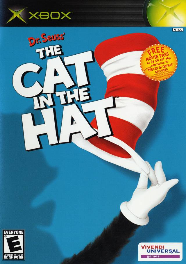 Dr. Seuss' The Cat in the Hat - Xbox