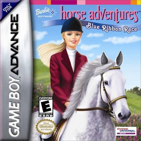 Barbie Software - Horse Adventures: Blue Ribbon Race - Game Boy Advance [USED]