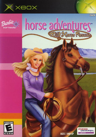 Barbie Horse Adventures: Wild Horse Rescue - Xbox