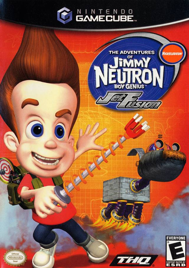 Jimmy Neutron: Jet Fusion - GameCube [NEW]