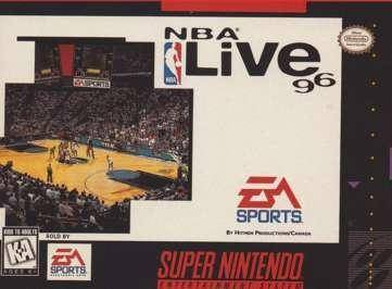 NBA Live 96 - Super Nintendo [USED]