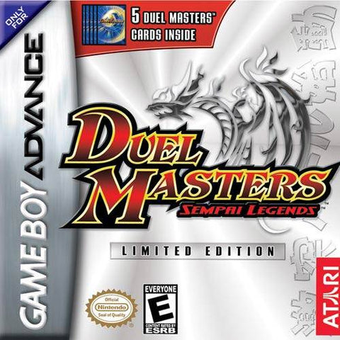 Duel Masters: Sempai Legends - Game Boy Advance (TPS Strategy, 2003, US )