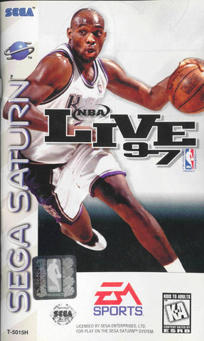 NBA Live 97 - SEGA Saturn [NEW]