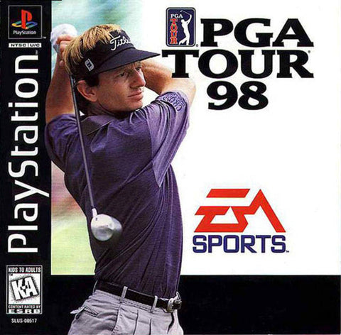 PGA Tour 98 - PlayStation