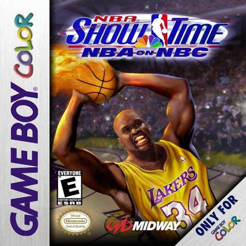 NBA Showtime: NBA on NBC - Game Boy Color [USED]