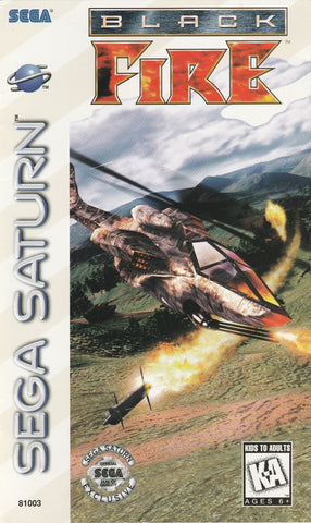 Black Fire - SEGA Saturn [NEW]