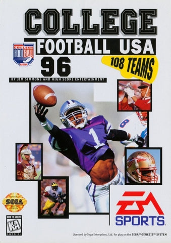 College Football USA 96 - SEGA Genesis [USED]