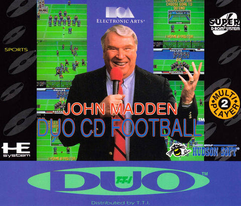 John Madden Duo CD Football - Turbo CD