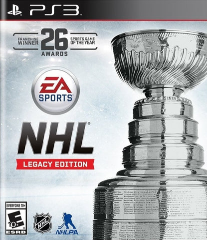 NHL Legacy Edition - PlayStation 3