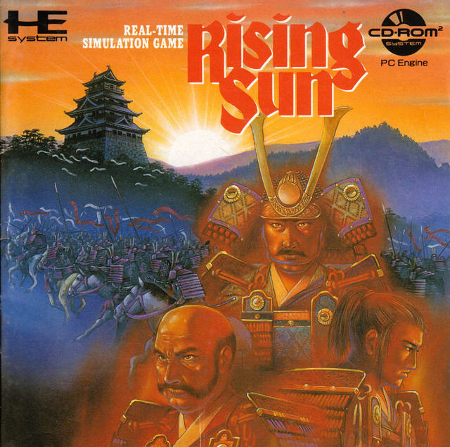 Rising Sun - Turbo CD (Japan)