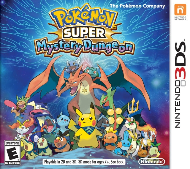 Pokemon Super Mystery Dungeon - Nintendo 3DS [NEW]