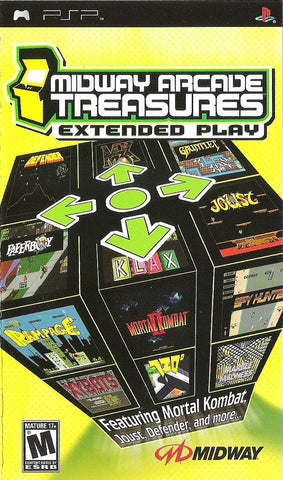 Midway Arcade Treasures: Extended Play - PSP