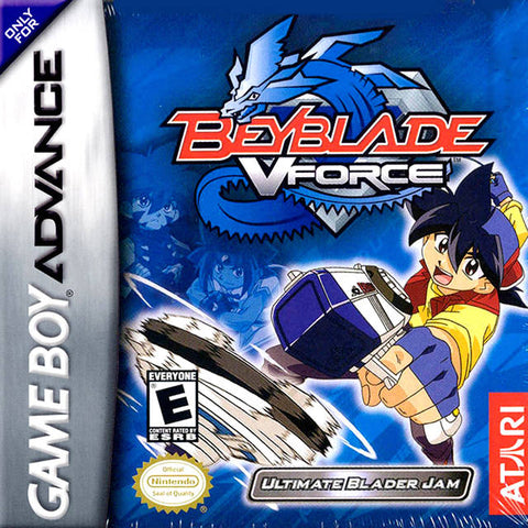 Beyblade VForce: Ultimate Blader Jam - Game Boy Advance [USED]