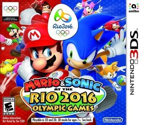 Mario & Sonic at the Rio 2016 Olympic Games - Nintendo 3DS [USED]