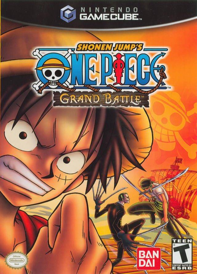 Shonen Jump's One Piece: Grand Battle - GameCube [USED]