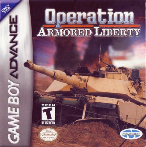 Operation Armored Liberty - Game Boy Advance [USED]