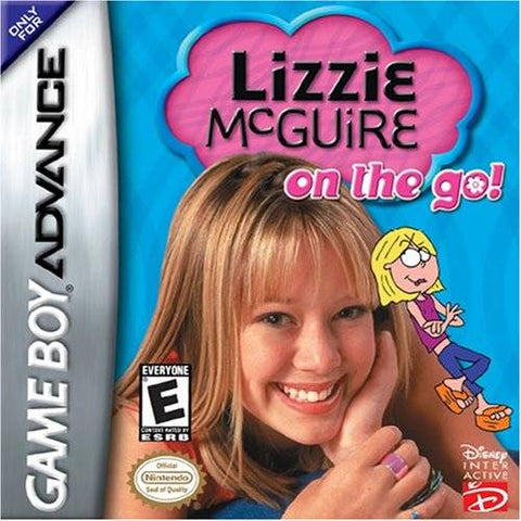 Lizzie McGuire: On the Go! - Game Boy Advance [USED]