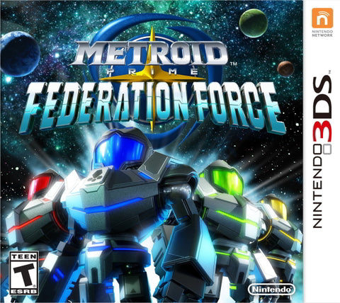 Metroid Prime: Federation Force - Nintendo 3DS [USED]