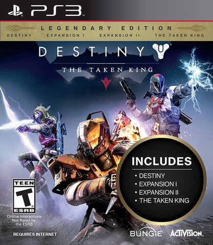 Destiny: The Taken King - Legendary Edition - PlayStation 3 (FPS, 2015, US)