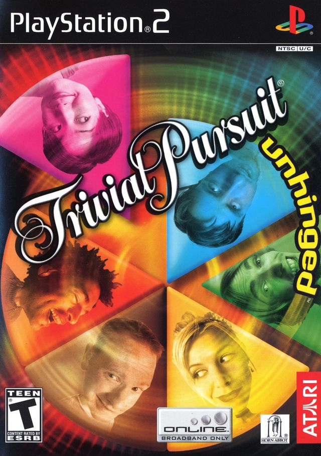 Trivial Pursuit Unhinged - PlayStation 2