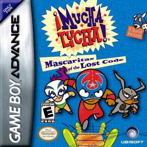 Mucha Lucha! Mascaritas of the Lost Code - Game Boy Advance (SPT, 2003, US )