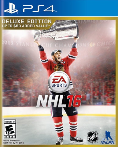 NHL 16 (Deluxe Edition) - PlayStation 4
