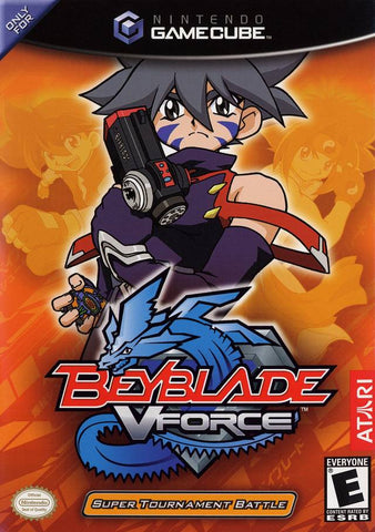BeyBlade VForce: Super Tournament Battle - GameCube [USED]