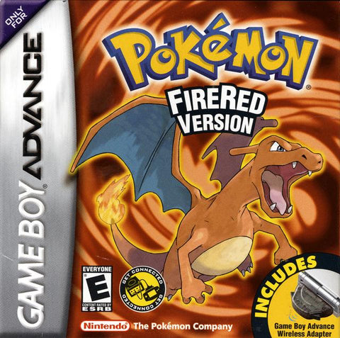 Pokemon FireRed Version - Game Boy Advance [NEW]