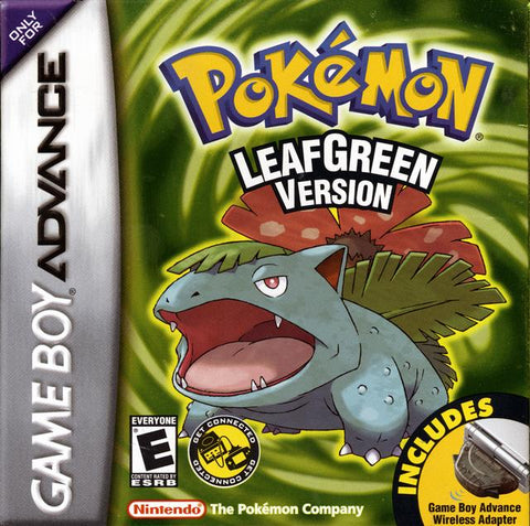 Pokemon LeafGreen Version - Game Boy Advance [NEW]