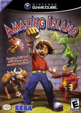Amazing Island - GameCube [USED]