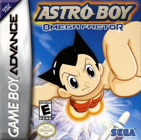 Astro Boy: Omega Factor - Game Boy Advance (ACT, 2003, US )