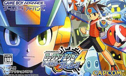 RockMan EXE 4 Tournament: Blue Moon - Game Boy Advance (Japan)