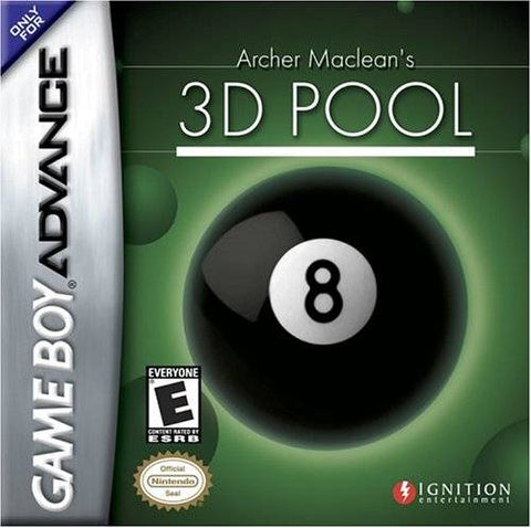 Archer Maclean's 3D Pool - Game Boy Advance [USED]