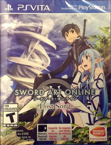 Sword Art Online: Lost Song - PS Vita