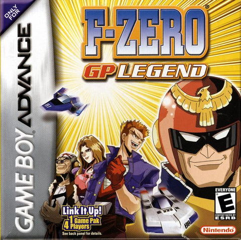 F-Zero: GP Legend - Game Boy Advance (Racing, 2003, US )