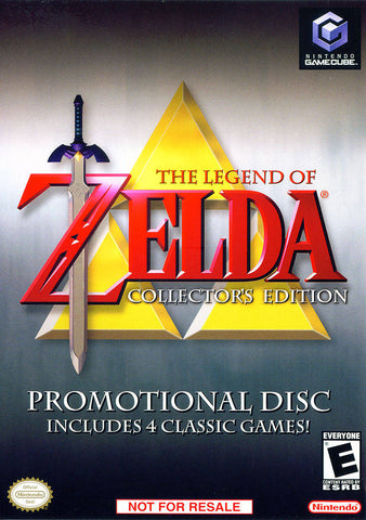The Legend of Zelda Collector's Edition - GameCube [USED]